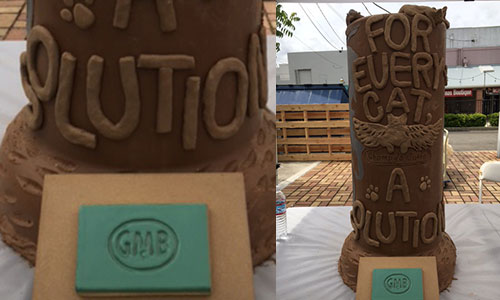 FieldHaven's terra cotta entry into Gladding McBean's Feats of Clay contest
