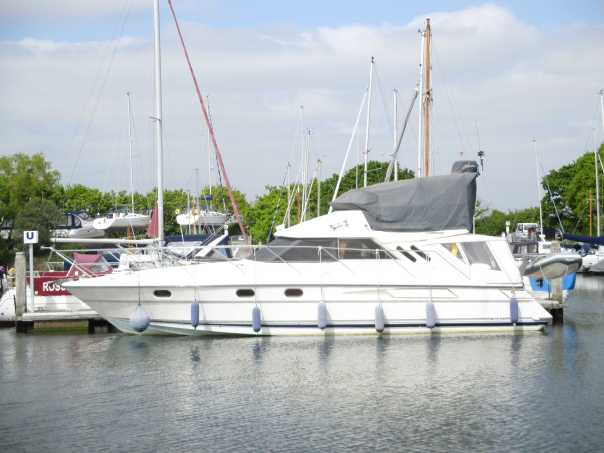 Fairline 41 at Chichester Marina, West Sussex