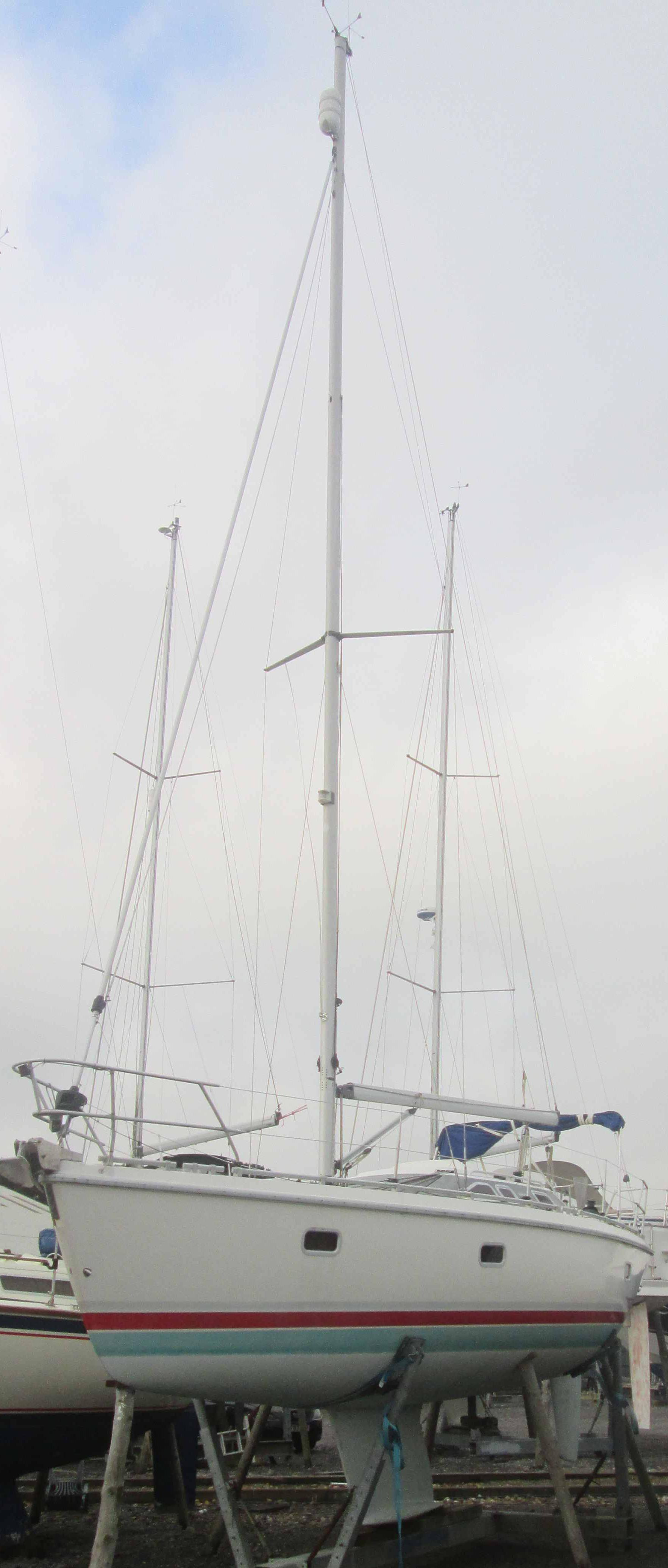 Insurance Survey of Etap 32i at Northney Marina