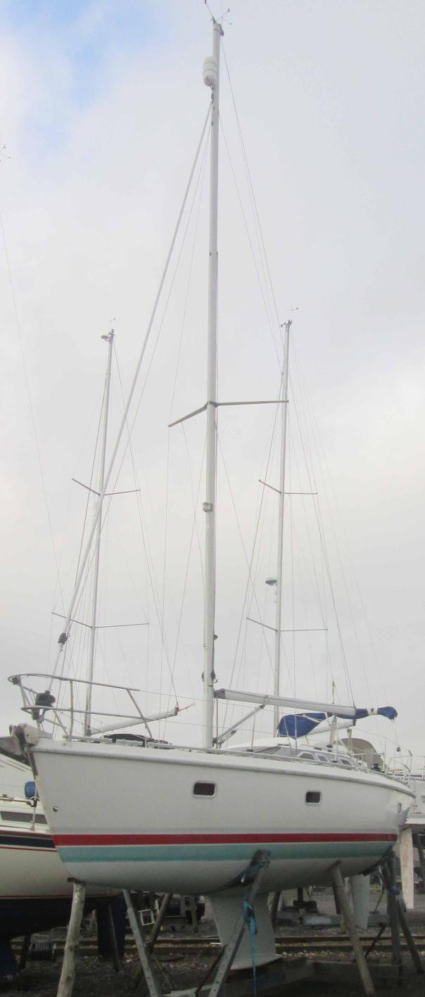 Insurance Survey of Etap 32i at Northney Marina