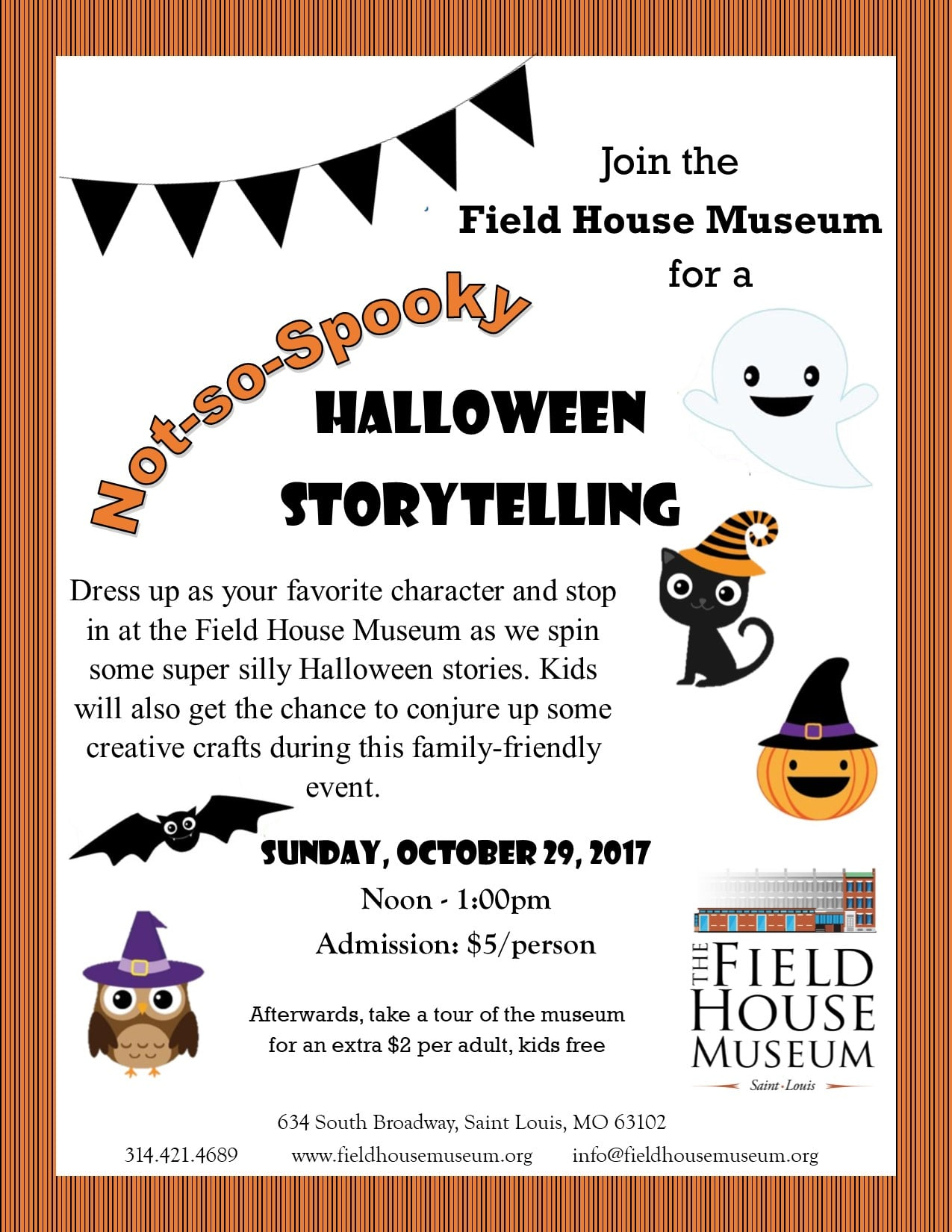 Not So Spooky Halloween Storytelling