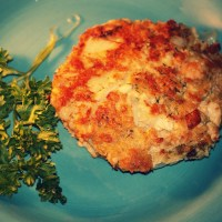 Egg-Free Salmon Cakes