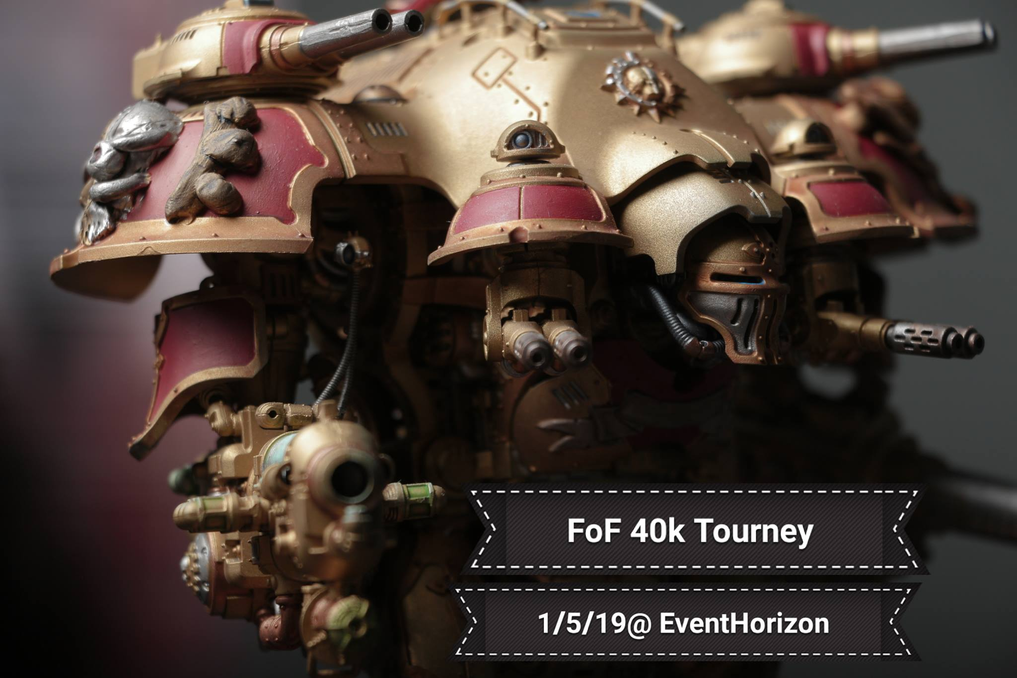FoF 40k Tourney Bolter'n the new year header
