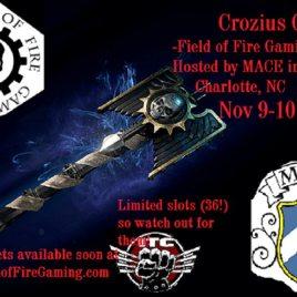 Crozius Grand Tournament – MACE Gaming Convention
