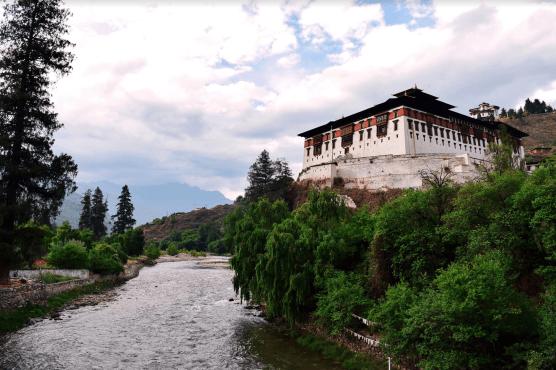 The Paro Dzong, Chris Urban ©