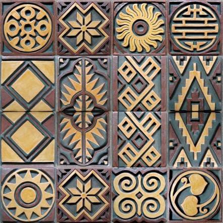 Convergence — Pillar tile designs