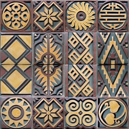 Convergence — Pillar tile designs