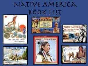 native americans unit reading list