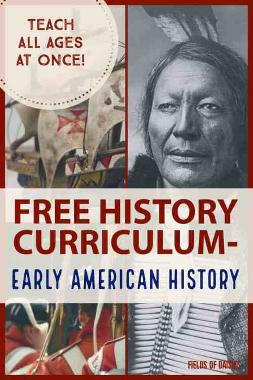 small resolution of Free Early American History Curriculum   Fields of Daisies