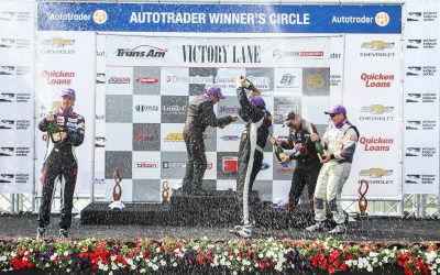 Victory at Belle Isle Grand Prix with Kyle Marcelli