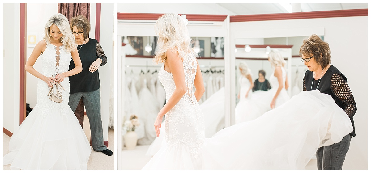 fieldstone photography vendor spotlight wedding dress shopping