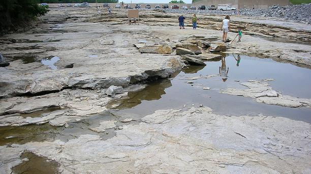 Devonian Fossil Gorge visit