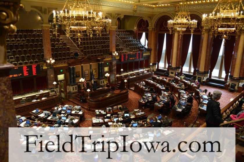 Iowa Senate - fieldtrip at the Iowa State Capitol