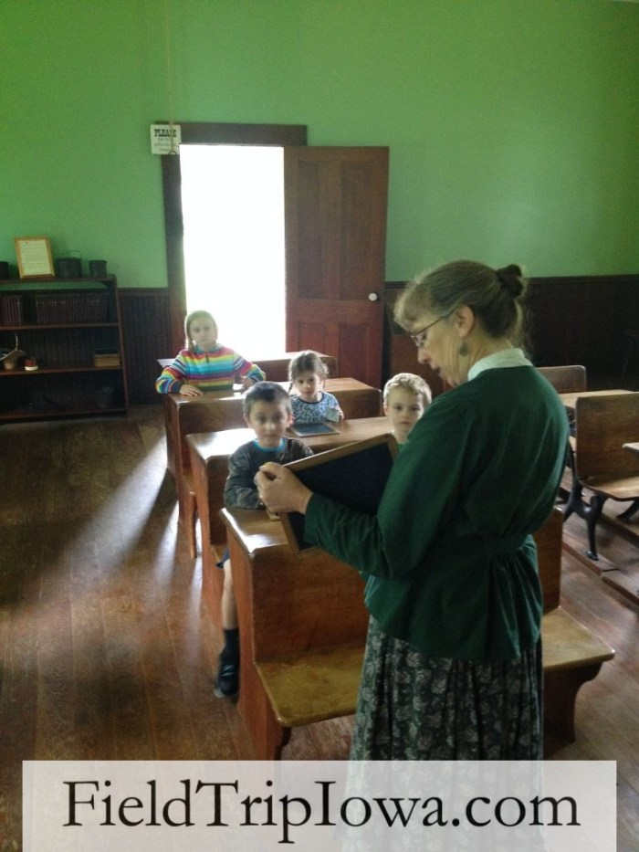 Living History Farms - one room school house learning
