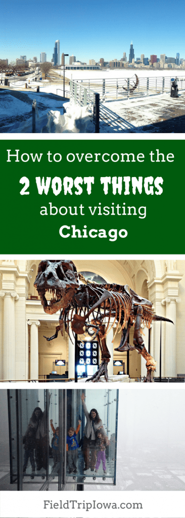 Bringing Kids to Chicago? How to overcome the 2 worst things about visiting Chicago and have a GREAT time. Find out how we managed traffic and prices!