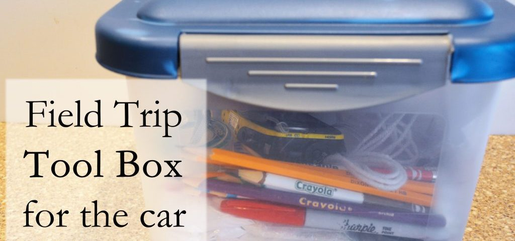 Field Trip Tool Box for the Car