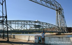 Duluth Minnesota arial lift bridge