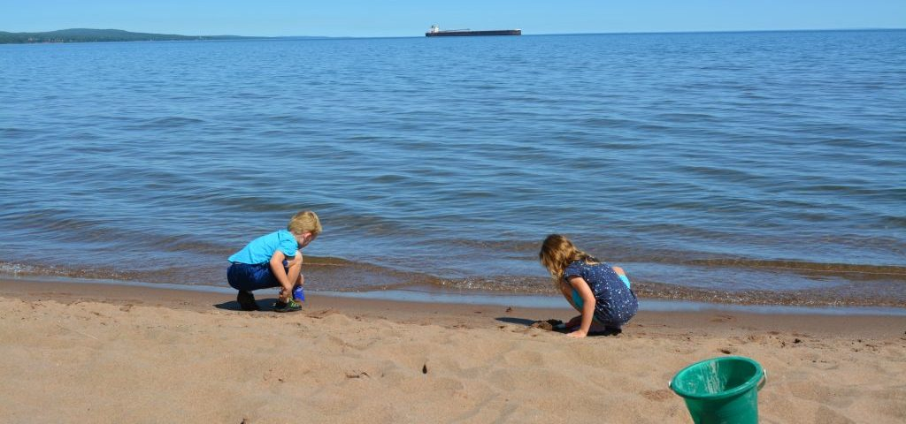 Duluth Minnesota Park Point Beach