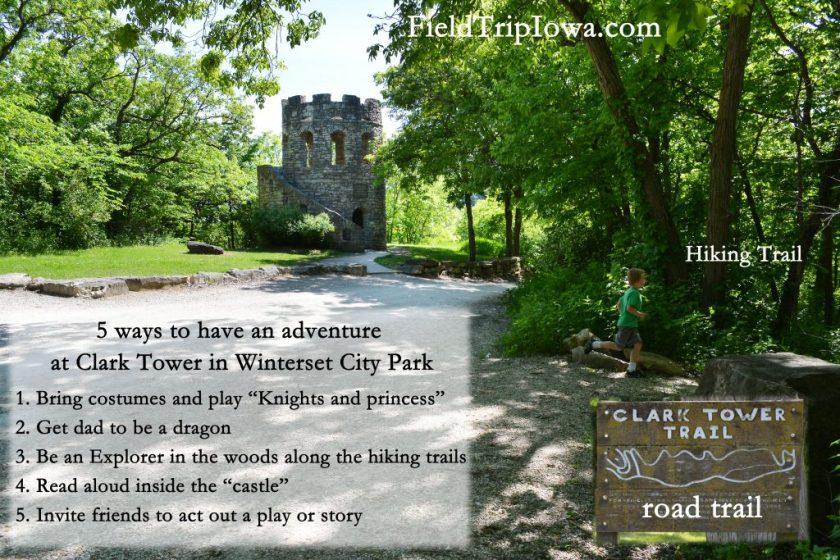 Clark Tower WInterset -Kid-friendly Weekend in Madison County