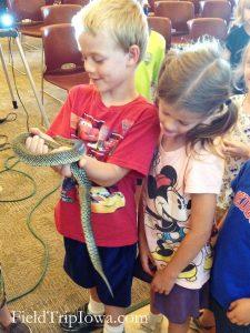 Jester Park Snake program