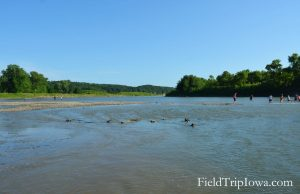 Ledges State Park at Des Moines River