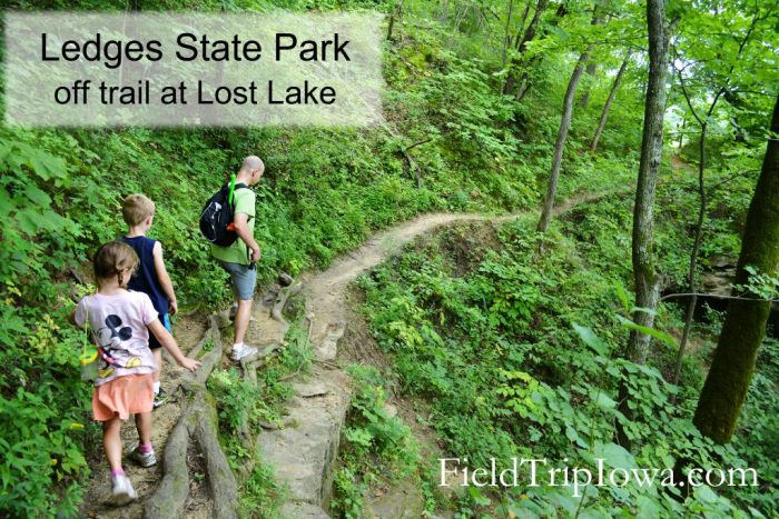 Ledges State Park Lost Lake