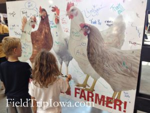 Iowa State Fair Paul R. Knapp Animal Learning Center Thank a Farmer