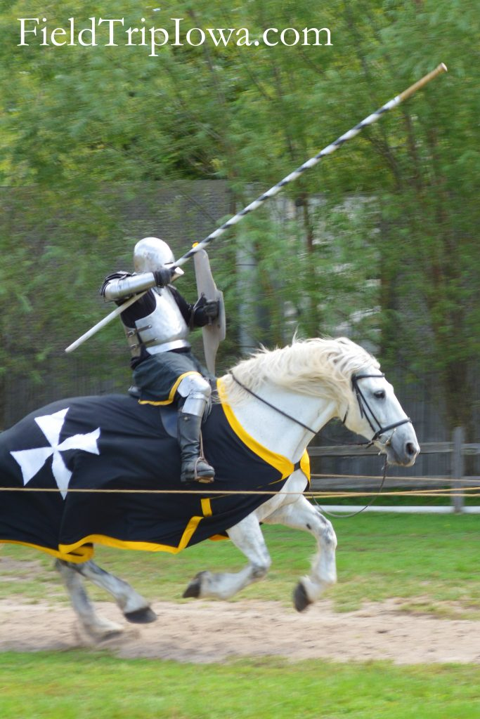 Joust match at the Renaissance Faire at Sleepy Hollow
