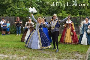 Family Guide to Renaissance Faire at Sleepy Hollow King and Queen open gate