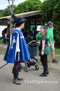 Family Guide to Renaissance Faire at Sleepy Hollow baby stroller