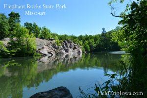 Pond at Elephant Rocks State Park