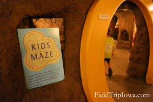 Kids Maze in museum at Neal Smith National Wildlife Refuge