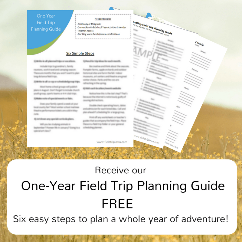 One-Year Field Trip Planning Guide