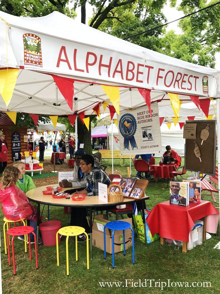 Minnesota State Fair Alphabet Forest