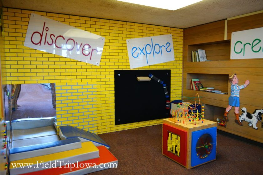Toddler room at Bluedorn Science Imaginarium in Waterloo Iowa.