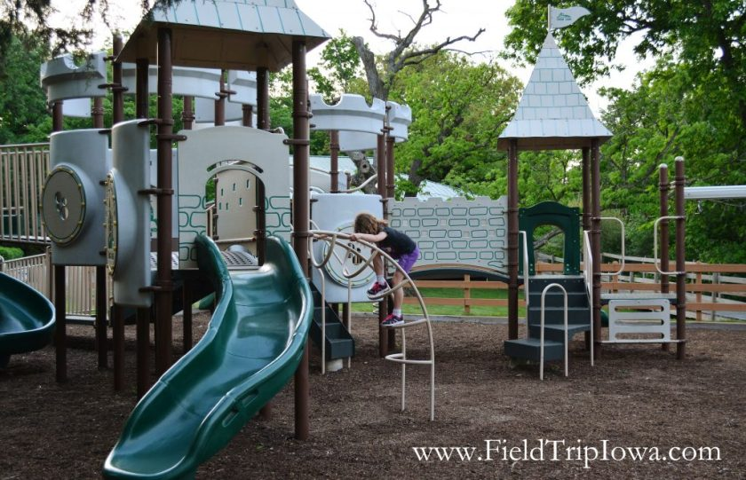 New playground at Grizzly Jack's Grand Bear Resort and Indoor Waterpark in Utica, IL