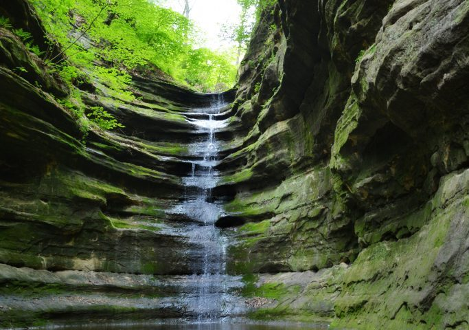 French Canyon in Starved Rock State Park, IL