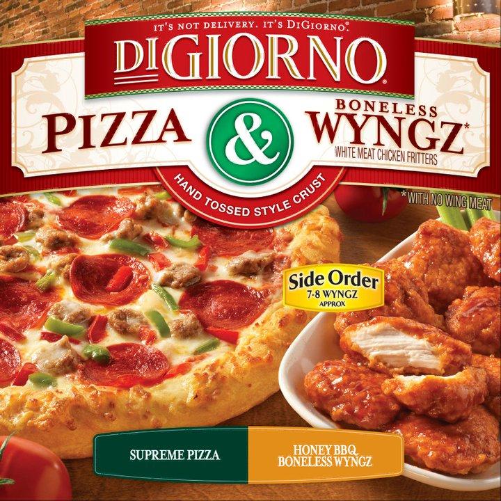 digiorno pizza wyngz kicking