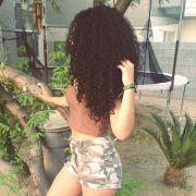 fierce natural hair long and curly