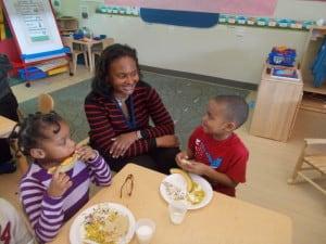"""Learn to celebrate children's ideas, their creativity,"" says Dawn Smith, a preschool master teacher at Educare of Washington, D.C."