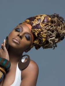 """I try to let my hair be free as much as I can,"" says Ledisi, who's worn locs for 13 years. (Verve Music Group)"