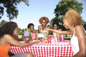 """For a frugal good time, meet your girlfriends at the park for a """"potluck picnic."""" (MGP)"""