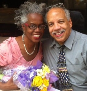Tricia & Chuck Walker celebrate one year of marriage, May 11, 2014.