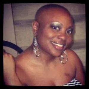 """Even losing my hair, I laughed a little bit about that,"" Tiffany Sanders says. At first, she didn't."