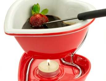 Island Dark Chocolate Fondue