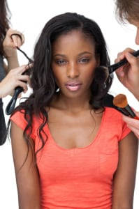 Shedding hair for the first time? Blame pregnancy, stress or poor styling practices from your early years. (Wavebreakmedia Ltd./Thinkstock)