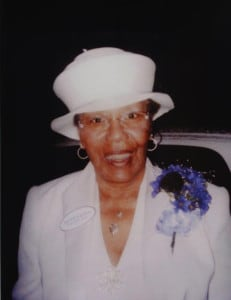Dorothy Lane, RN, Meharry class of 55, president of the Meharry School of Nursing History Project group