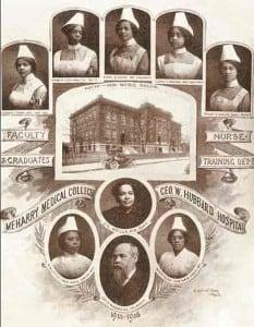 Meharry nurses in training, 1915