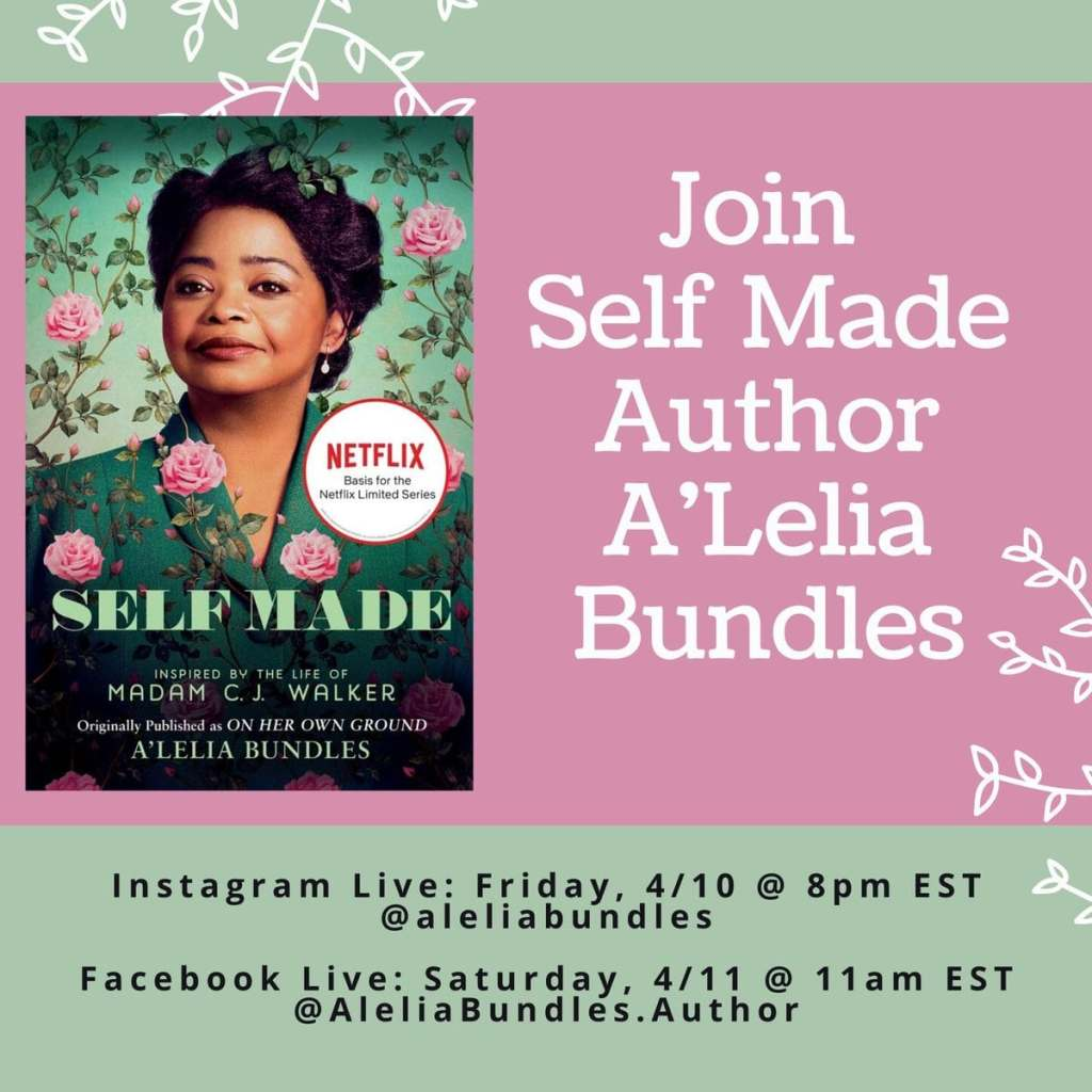 Fierce Fridays: Chat With A'Lelia Bundles About Madam C.J. Walker