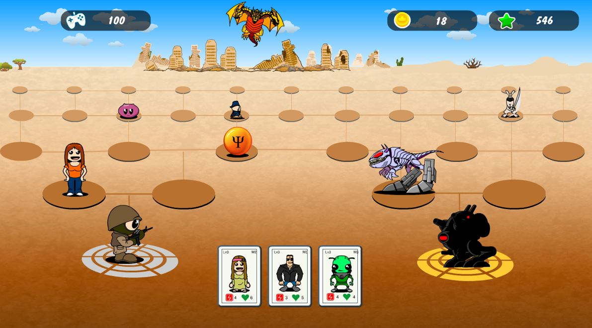 Meesha's Maze desert world